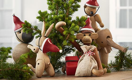 Animali di legno di Kay Bojesen
